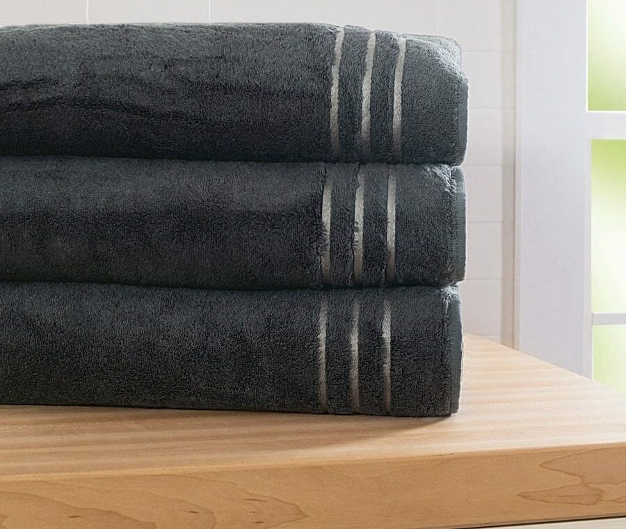 Cariloha Graphite Bamboo Bath Sheet