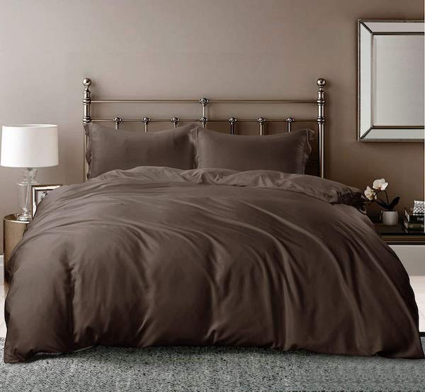 Whitney Home Textile Duvet Cover from 100% Viscose Bamboo